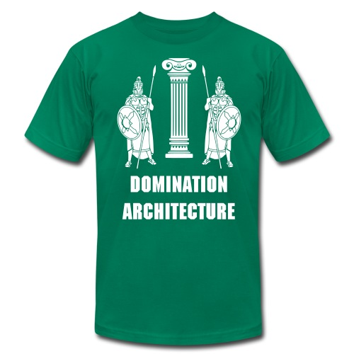 Domination Architecture - Men's Fine Jersey T-Shirt