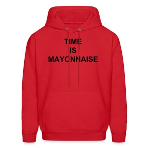 Time is Mayonnaise - Men's Hoodie
