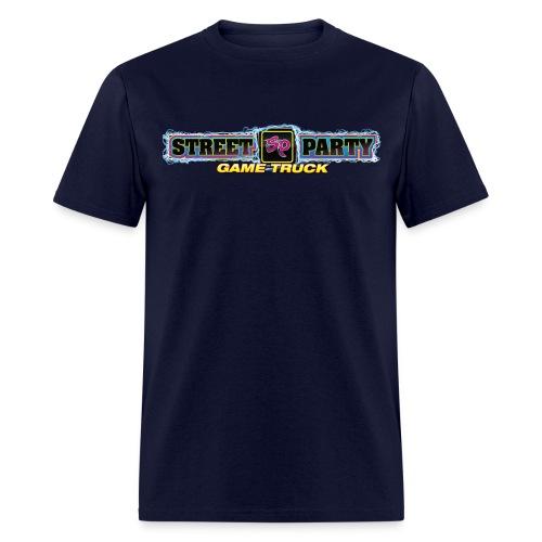 Men's Standard Weight T-Shirt Street Party Game Truck - Men's T-Shirt