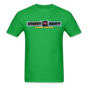 Men's Standard Weight T-Shirt Street Party Game Truck - Men's T-Shirt
