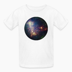 Galaxy - Space - Stars - Cosmic - Art - Universe Kids' Shirts