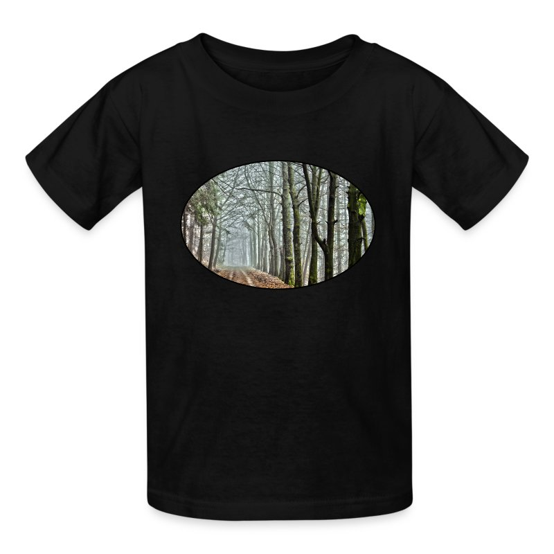 Forest Nature Park Trees Rural Dirt Road T Shirt