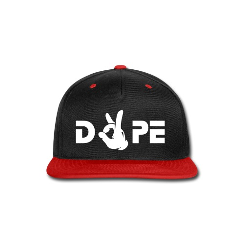 DOPE - Snap-back Baseball Cap