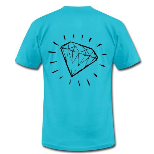 Diamond Sparkle Tee - Men's Fine Jersey T-Shirt