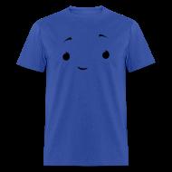 T-Shirts ~ Men's T-Shirt ~ Men's Blue Umbrella