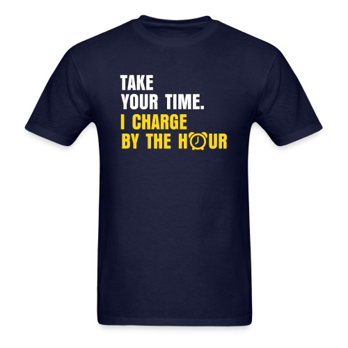 Charge By The Hour - Standard Tee - Men's T-Shirt
