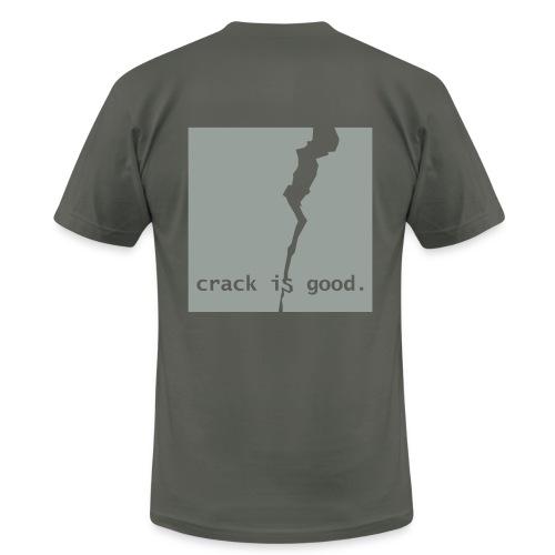 crack is good. - Men's  Jersey T-Shirt