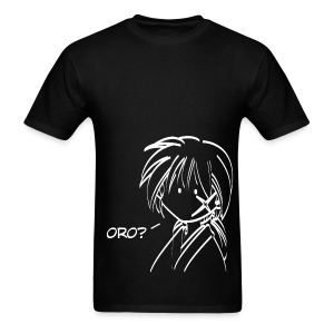 Kenshin oro - Black ♂ - Men's T-Shirt