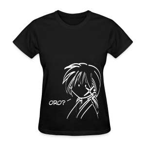 Kenshin oro - Black ♀ - Women's T-Shirt