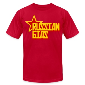 Russian Bias - Men's Fine Jersey T-Shirt