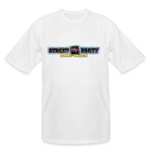 Men's Tall T-Shirt street party game truck - Men's Tall T-Shirt