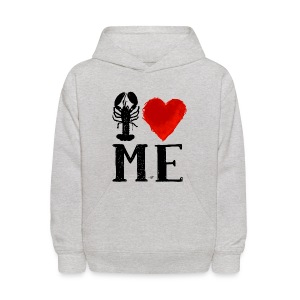 I Heart Maine (remix) by Tai's Tees - Kids' Hoodie