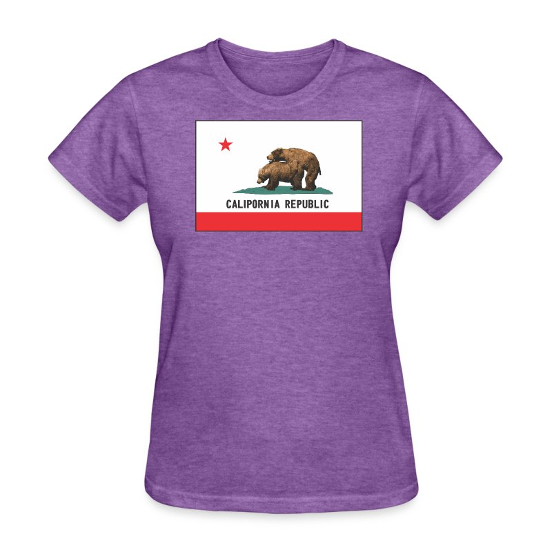 calipornia flag f - Women's T-Shirt