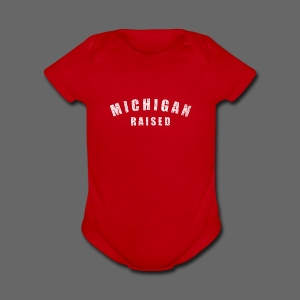 Michigan Raised - Short Sleeve Baby Bodysuit