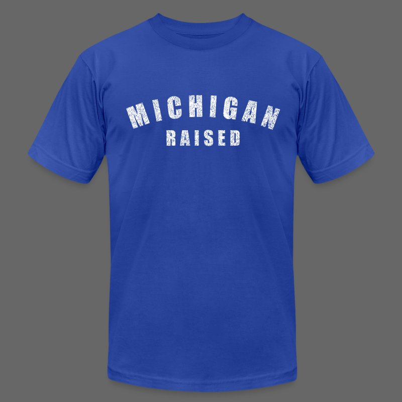 Michigan Raised - Men's T-Shirt by American Apparel