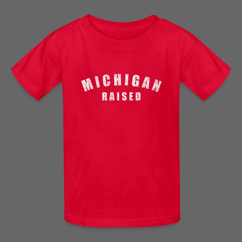 Michigan Raised - Kids' T-Shirt