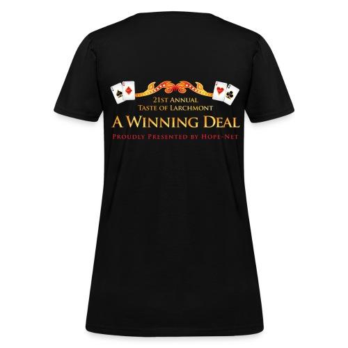 Taste of Larchmont 2013 Women's Shirt - Women's T-Shirt