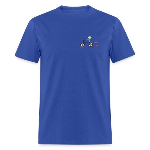 Stickman Biker Heavy T - Men's T-Shirt