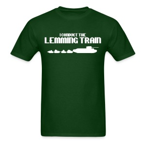 Lemming Train - Men's T-Shirt