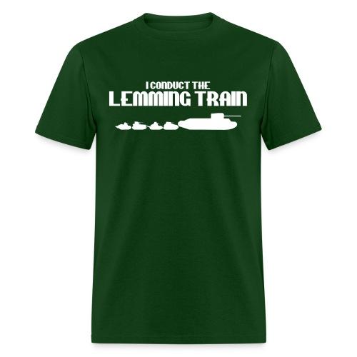 Lemming Train - Men's T-Shirt