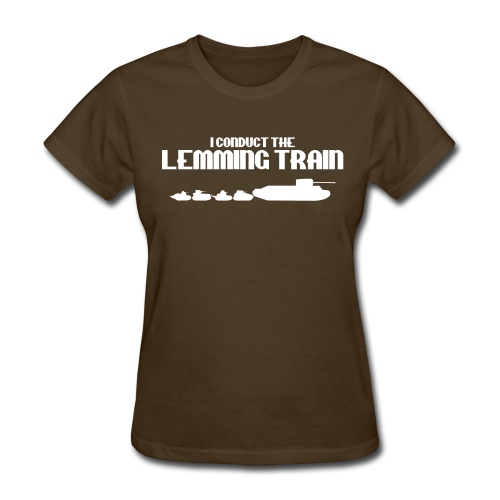 Lemming Train (Women) - Women's T-Shirt