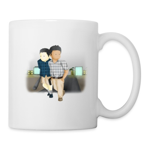 Larry and Frank Mug - Coffee/Tea Mug