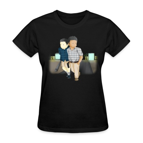 Women's Larry and Frank T-Shirt - Women's T-Shirt