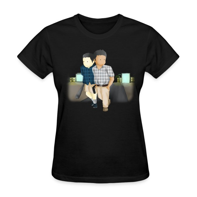 Women's Larry and Frank T-Shirt