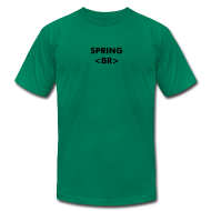 T-Shirts ~ Men's T-Shirt by American Apparel ~ Spring Break