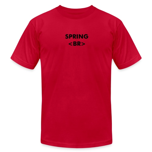 Spring Break - Men's T-Shirt by American Apparel