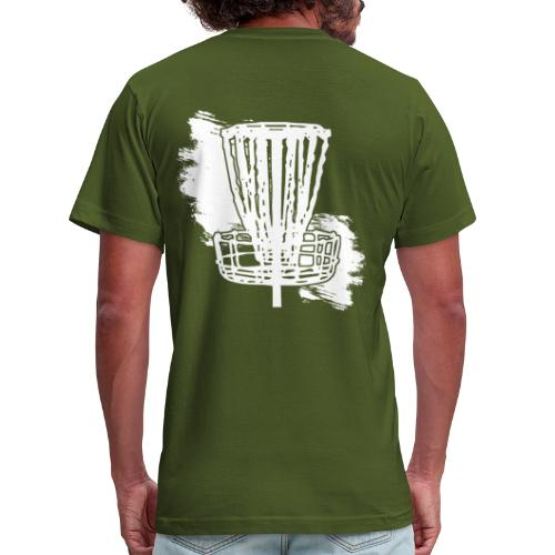 Insane for the Chains Disc Golf - Men's Fitted Shirt - Men's Fine Jersey T-Shirt