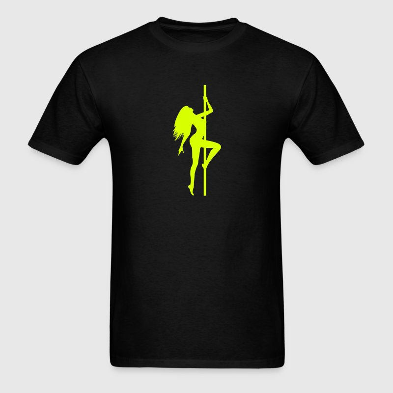 Stripper - Pole Dancing - Dancer - Nude - Naked T-Shirts - Men's T-Shirt