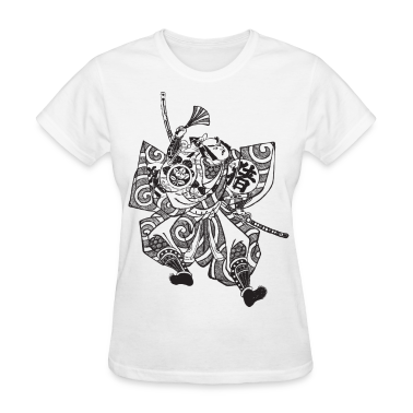 Samurai - Japan - Japanese - Warrior - Bushido Women's T-Shirts