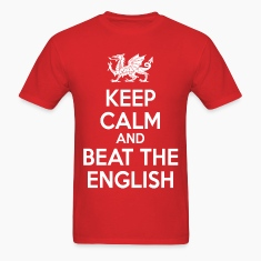 keep calm and beat the english