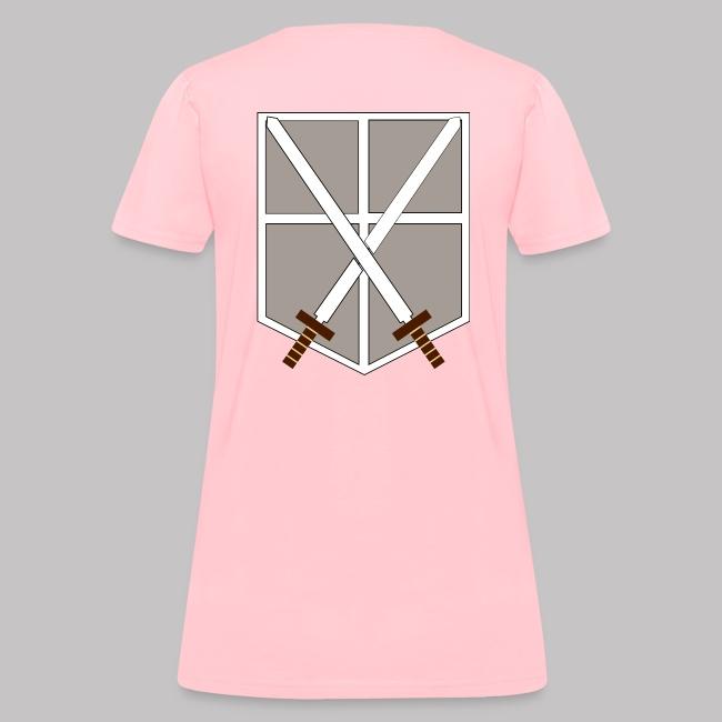 118cbcf7 Attack on Titan - Training Corps | Women's T-Shirt