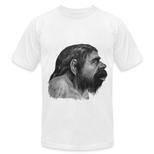 Neanderthal - Men's T-Shirt by American Apparel