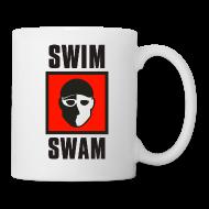 Mugs & Drinkware ~ Coffee/Tea Mug ~ SwimSwam Square Coffee Mug