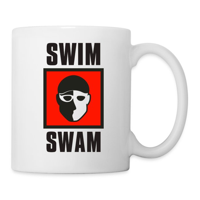 SwimSwam Square Coffee Mug