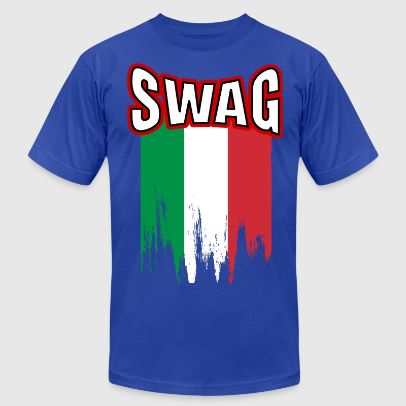 italian swag T-Shirts - Men's T-Shirt by American Apparel