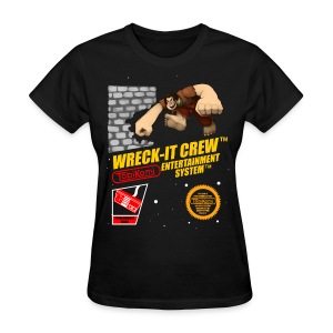 Wreck-It Crew T-shirt (Ladies) - Women's T-Shirt