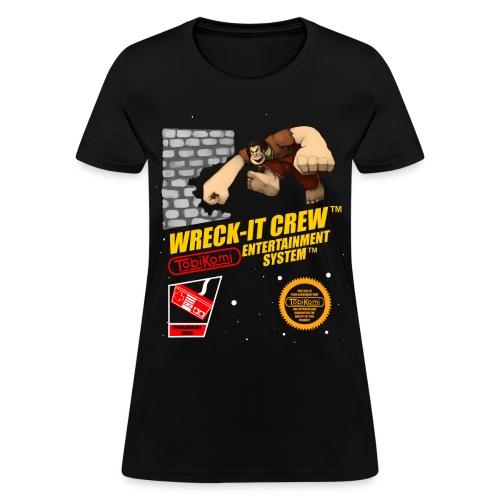 Wreck-It Crew T-shirt (Ladies) - Women's T-Shirt