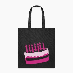 Birthday Cake Candles Fire Happy Sweet 2c Bags & backpacks