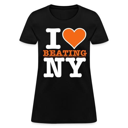 I Heart BEATING New York - Women's T-Shirt