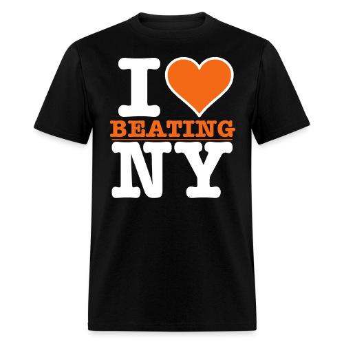 I Heart BEATING New York - Men's T-Shirt