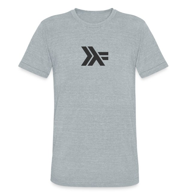 Black Haskell Logo :: Gray Shirt
