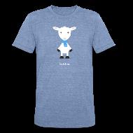 T-Shirts ~ Unisex Tri-Blend T-Shirt ~ the lamb da representing haskell
