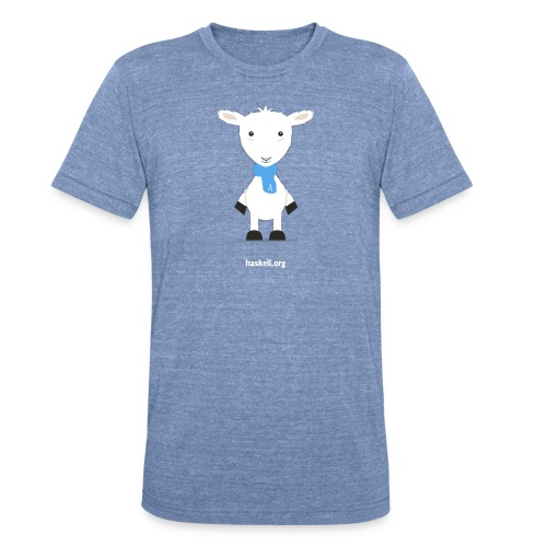 the lamb da representing haskell - Unisex Tri-Blend T-Shirt by American Apparel