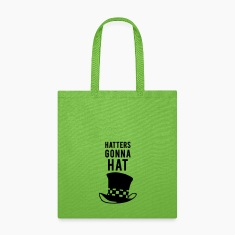 Hatters gonna hat pun Bags & backpacks