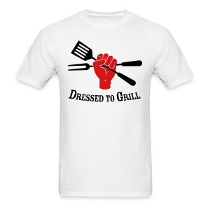 Dressed to Grill - Men's T-Shirt