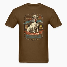 labrador_and_pheasant_y T-Shirts